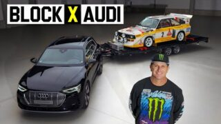 Ken Block Joins Audi! And Gets The Ultimate Welcoming.