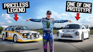 Ken Block Rips Legendary Rally Machines From Audi's Secret Storage