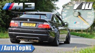 BMW M3 E46 | 5.0 V10 DCT | 100-300KM/H & INSANE SOUND by AutoTopNL