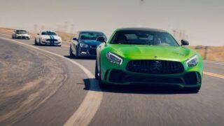 Boys Trip | AMG GTR, Supra, GT350, Holden [4K]