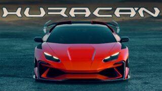 Extreme Bodykit – Lamborghini Huracan – design by hycade
