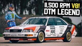 Ken Block Shreds 11,500rpm V8 DTM Car & e-tron Vision GT